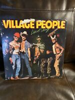 The Village People - Live And Sleazy 2x LP Gatefold Vinyl