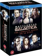 BATTLESTAR GALACTICA (2004-09) The Complete Series Blu-Ray Box Set NEW Free Ship