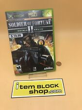 Soldier of Fortune II: Double Helix for Microsoft Xbox Complete Fast Shipping