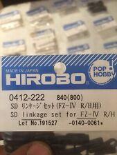 HIROBO 0412-222 SD LINKAGE SET FOR FZ-IV R/H HELICOPTER PARTS Nitro Rc