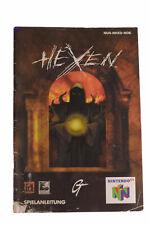 Hexen N64 Anleitung im akzeptablen Zustand