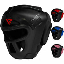RDX Detachable Bar Head Guard Helmet Boxing Martial Arts HeadGear MMA Protector
