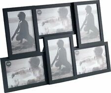 "Balvi MULTI PHOTO FRAME ISERNIA 6 Picture Display 10x15cm 4x6"" - BLACK"