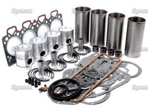 Engine Rebuild Kit for Perkins D4.236 Massey-Ferguson Tractor MF 175 180 265 31+