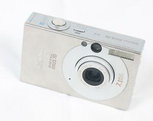 Canon Digital IXUS 70 7.1MP Digital Camera - Silver