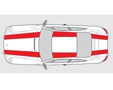 Porsche 911 Classic Bonnet Roof  Boot Double 911r Style Stripe Graphic Decal Set