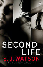 Second Life by S. J. Watson Paperback Book *Free Shipping*