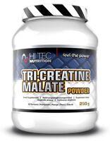 Hi-Tec Tri Creatine Malate TCM POWDER Creatine 250G Powder - FREE SHIPPING !
