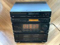 Sharp CD-302 Audio Hifi Midi System,Twin Tape,Radio,Equaliser - Read Description