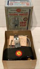 Vtg JFD AT103 NOS Black Porcelain Lightning Arrester UHF VHF Ham Radio Antenna