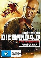 DIE HARD 4.0 (UNCUT VERSION) - BRAND NEW/SEALED DVD (BRUCE WILLIS, JUSTIN LONG)