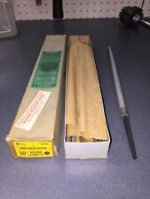 """1 Vintage NOS Nicholson Round Second Cut 10"""" File 12051 Made In USA"""