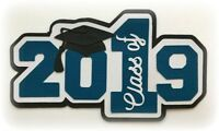 CLASS OF 2019 PREMADE PAPER PIECING PIECE 3D DIE CUT BY MY TEAR BEARS KIRA