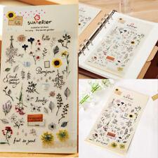 1Sheet Cute Briefpapier Deko Scrapbooking Planer Notizen Aufkleber BürobedarfL