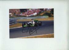 Pedro Lamy MINARDI M195 F1 saison 1995 signé photographie