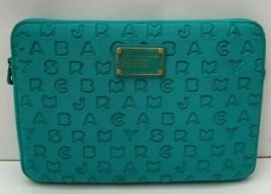 MARC BY MARC JACOBS 'Dreamy' Neoprene Teal Blue Tablet Case