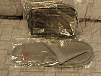 AIR CANADA BUSINESS FIRST AMENITY KIT WITH SLIPPERS NEW AND SEALED