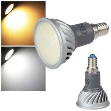 3x LED Leuchtmittel E14 230V 5W 380/400lm 70 SMD Leds Strahler-Form Lampe Spot