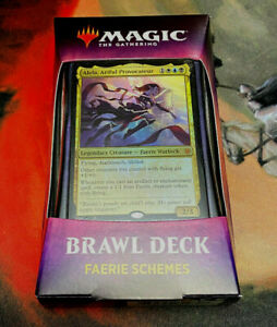 Magic the Gathering MTG Brawl Deck Faerie Schemes Smothering Tithe New