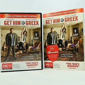 Get Him To The Greek Russell Brand DVD R4 GC Free Tracked Post