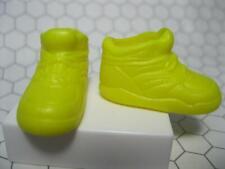 Barbie Doll YELLOW High Top Tennis Shoe-Fits SKIPPER-STACIE-LIV-FLAT FOOT DOLLS