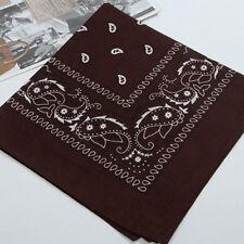 Unisex Bandana Cotton Paisley Print Scarf Head Wrap Neck Headband