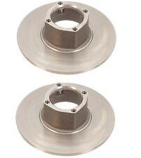 For MG Midget Set of 2 Brake Discs Front Left & Right Brembo 131 00 01