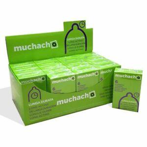 120 Preservativi RITARDANTI MUCHACHO RITARDANTE 20 scatole da 6