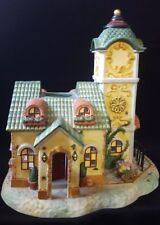 Partylite Ole World Village The Clocktower Candle Holder P7887