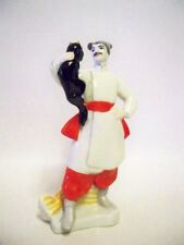 Rare KIEV Ceramics Experimental Figurine - Vakula (The Smith) and a Demon