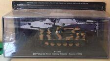 "DIE CAST TANQUE ""PT-76B 336 th GUARDS NAVAL BRIGADA DE RUSIA 1993"" BLINDADO"
