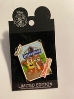 DLR Memories 2005 Collection Chip N Dale Marquee Sign LE Disney Pin (B)