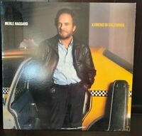 Merle Haggard Rare  Vinyl LP Record A Friend In California