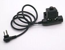 Airsoft Wargame U94 PTT Military Adapter PTT Z113 for Motorola Radio GP68 CP150