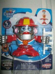 New Mr. Potato Head Transformers Rescue Bots Heatwave Mixable Mashable Heroes