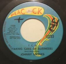 JOHNNY MEYERS T.C.B. /Teenage Girl 45 Peacock hear