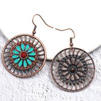 Vintage Bohemian Boho Style Multicolor Drip Drop Dangle Women Earrings S