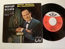 "MARCEL AZZOLA : Guillaume Tell  EP 7"" 1961 FESTIVAL FY 2275 S ROSSINI VON SUPPE"