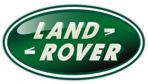 "LAND ROVER sticker decal 6"" x 3"""