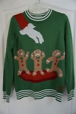Acrylic Christmas Tipsy Elves Sweaters for Men for sale | eBay
