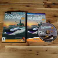 SHIP SIMULATOR 2008 ~ PC GAME PC CD-ROM COMPLETE WITH MANUAL