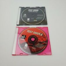 Lot of (2) Test Drive Off-road & Test Drive 4 (PlayStation 1) PS1 Discs ONLY