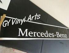 Mercedes-benz Decals Windshield Sun Visor Sun Strip Banners Stickers