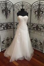 47 EDEN BL052 SZ 10 BLUSH SIMPLY ELEGANT $900 FORMAL WEDDING GOWN DRESS