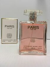 PARIS WOMEN Our Version of COCO 3.4 OZ 100 ML NATURAL SPRAY NEW SEALED BOX @SALE