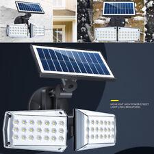 Lampe Solaire Exterieur Applique Murale LED Capteur De Mouvement Jardin