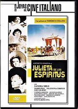 F. Fellini: GIULIETTA DE LOS ESPIRITUS -2ª mano dvd agotado en cualquier formato