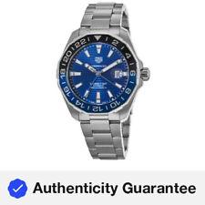 Nuevo Tag Heuer Aquaracer 300M Automático Esfera Azul Reloj para hombres WAY201T.BA0927