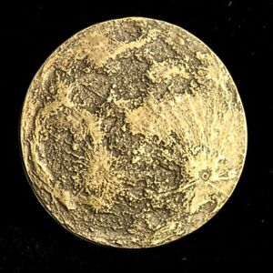 """MOON COINS """"HARVEST MOON BRASS COIN"""" Shire Post Mint New"""
