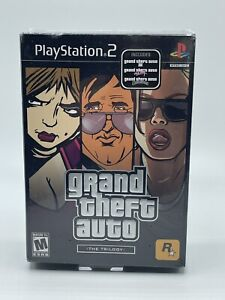PlayStation 2 PS2 Grand Theft Auto Trilogy NEW SEALED GTA 3 III San Andreas Vice